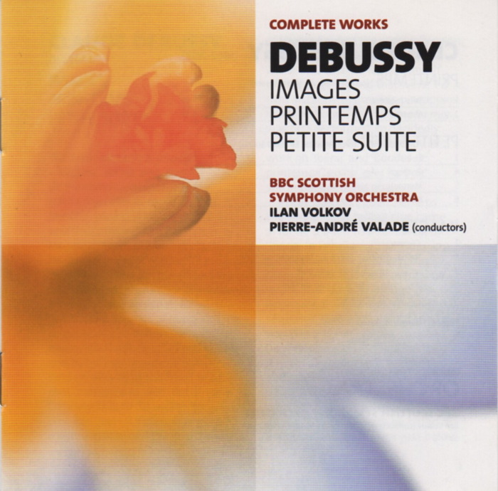 Music by Claude Debussy, Complete Works vol.14 No.9, conducted by Pierre-André Valade and Ilan Volkov