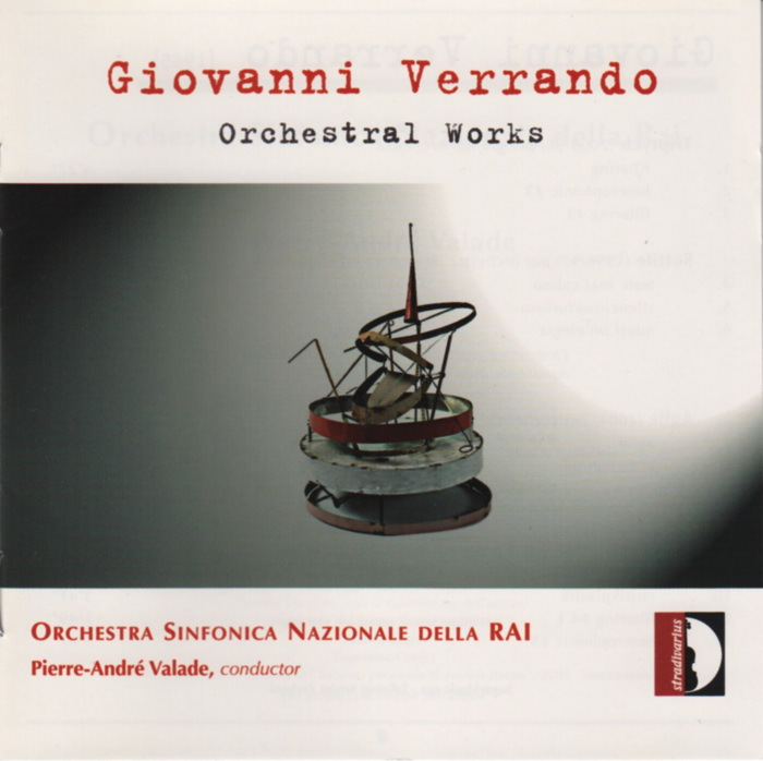 Music by Giovanni Verrando, RAI Turin Symphony Orhcestra, conducted by Pierre-André Valade