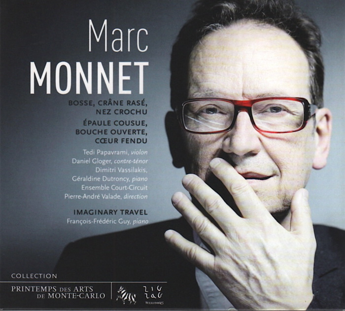 Music by Marc Monnet, conducted by Pierre-André Valade