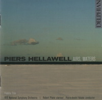 Music by Piers Hellawell, conducted by Pierre-André Valade
