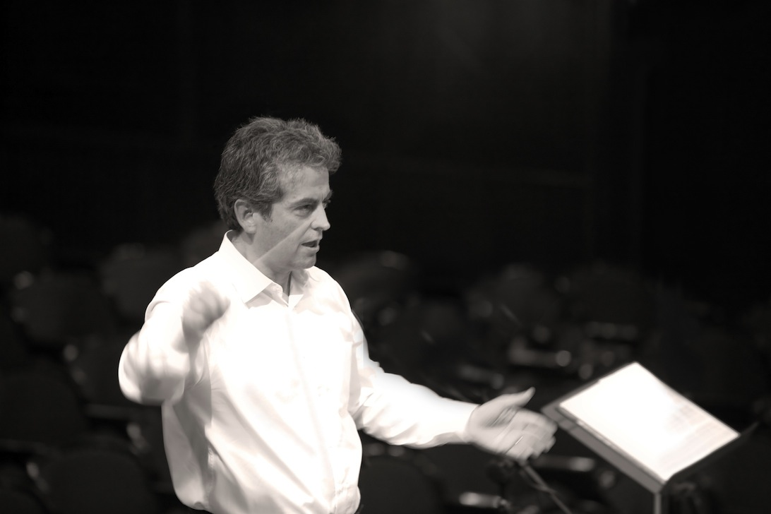 Pierre-André Valade rehearsing in Warsaw, Sept. 2011