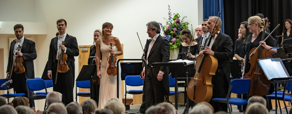 Valade, Benedetti and the Philharmonia at the Investec International Music Festival