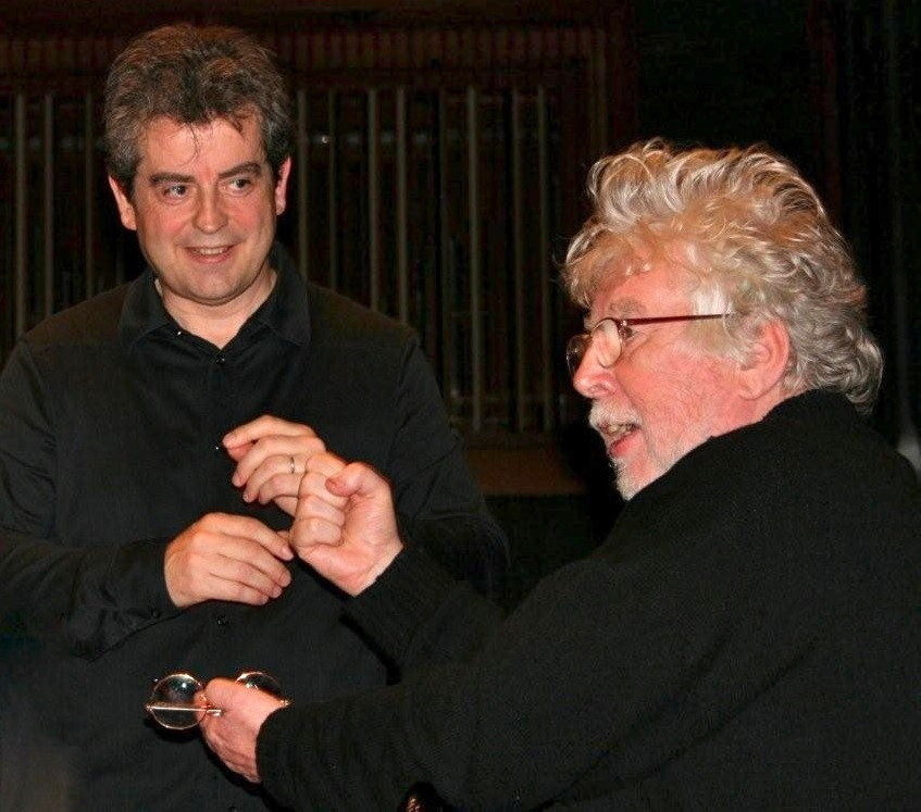 Pierre-André Valade et Sir Harrison Birtwistle, Orchestre Philharmonique d'Oslo, sept. 2009
