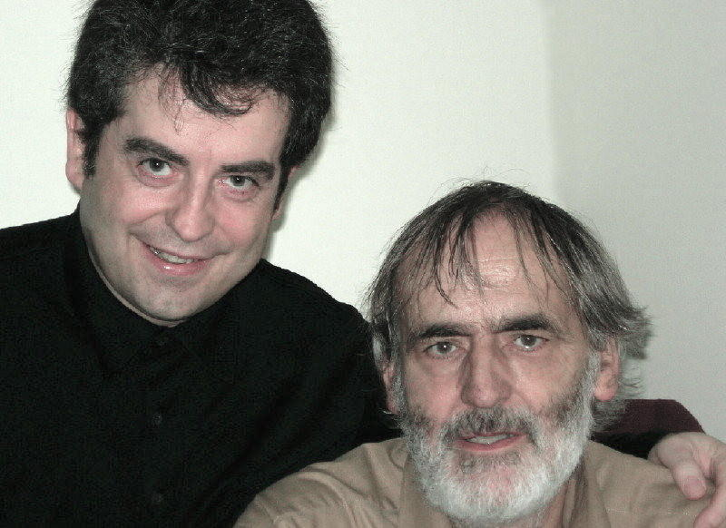 Pierre-André Valade and Helmut Lachenmann, London, Nov. 2006